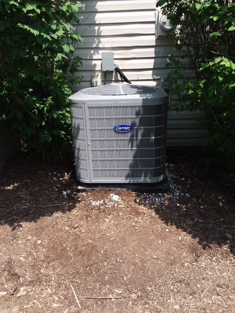 Hoffman Estates, IL - New carrier ac & coil installation