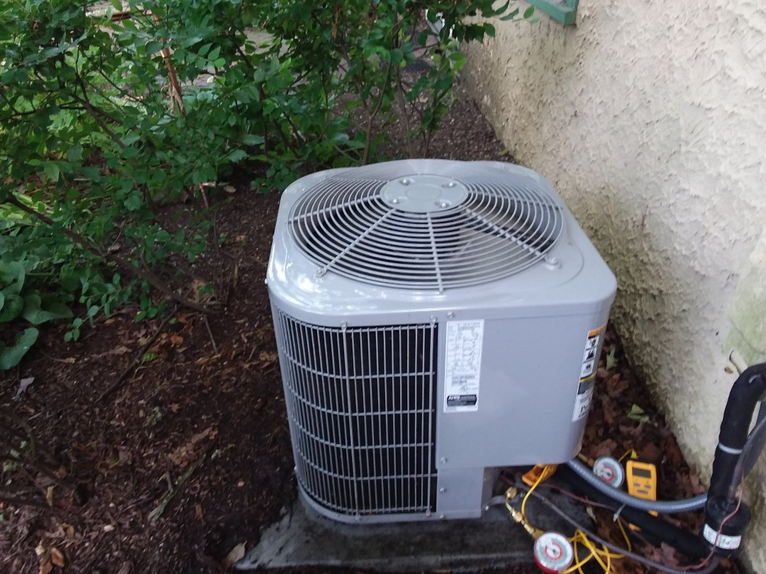Glen Ellyn, IL - Cleaned and checked a/c