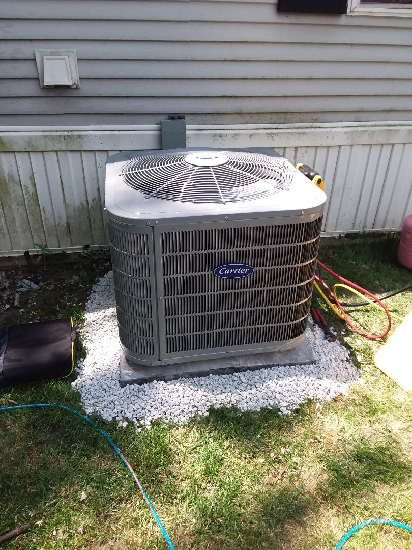 Chicago Heights, IL - Install of a carrier condenser system