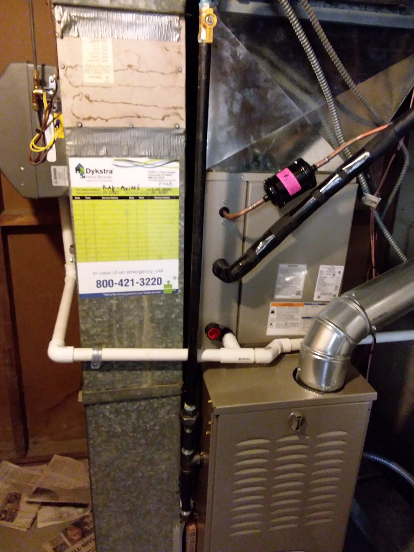 Alsip, IL - New carrier ac, coil, furnace & humidifier installation