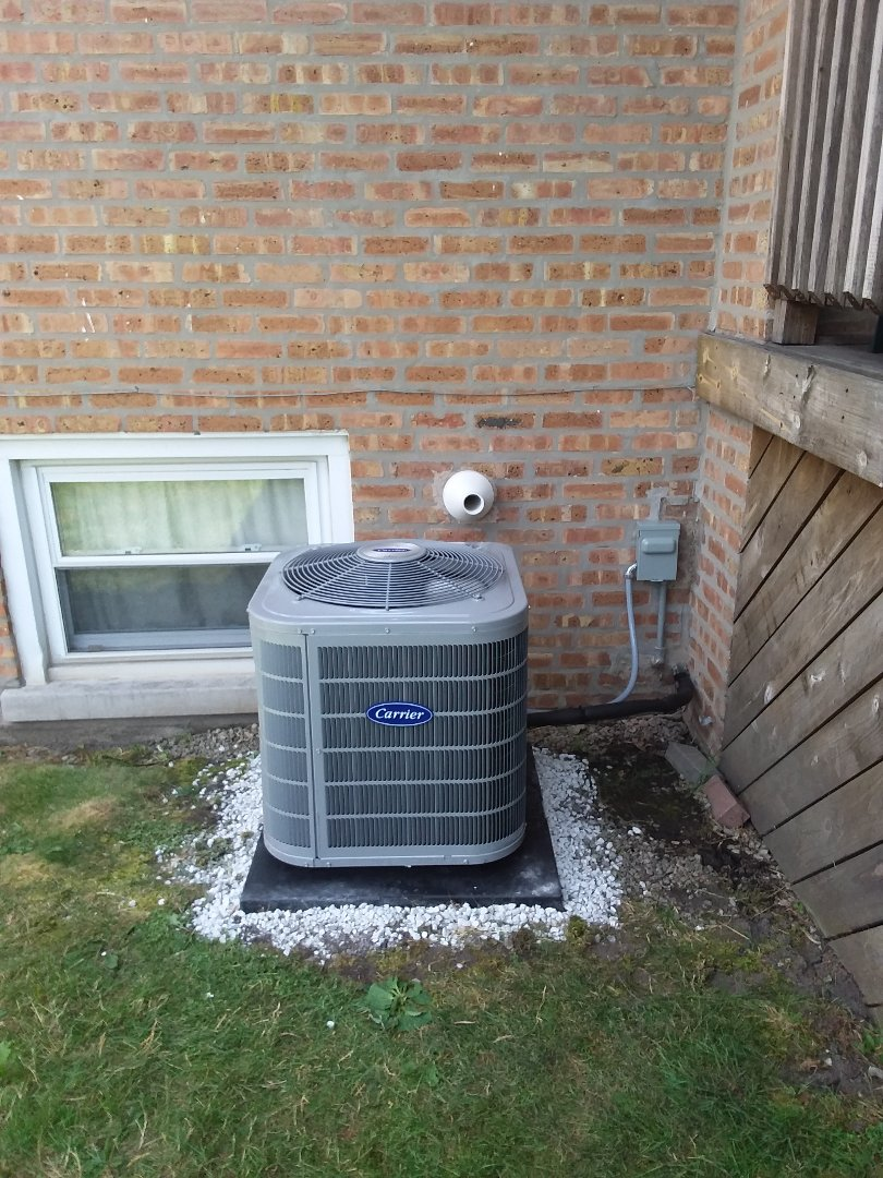 Burbank, IL - Restoration of Carrier Air Conditioner