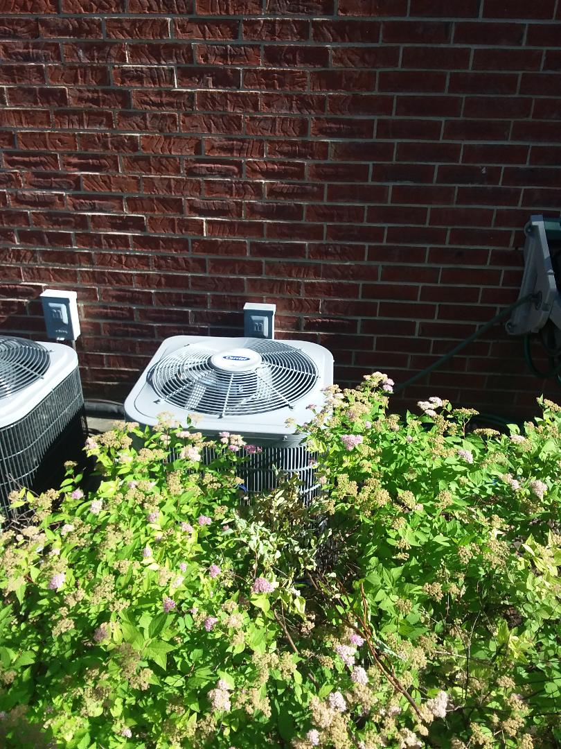Crestwood, IL - Installation of Carrier Air Conditioner