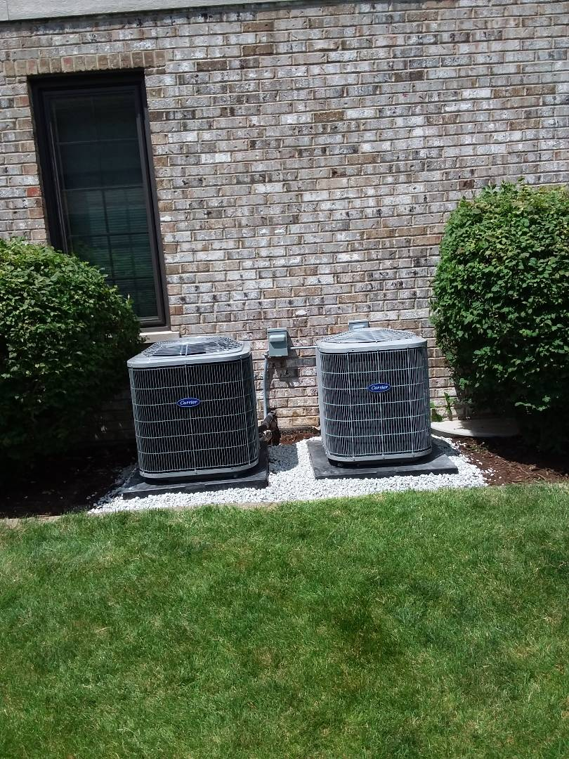 Frankfort, IL - New carrier ac & coil instqllqtion