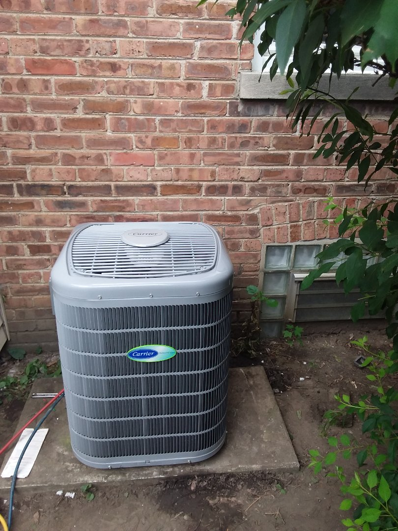 Des Plaines, IL - Installation of Carrier Air Conditioner