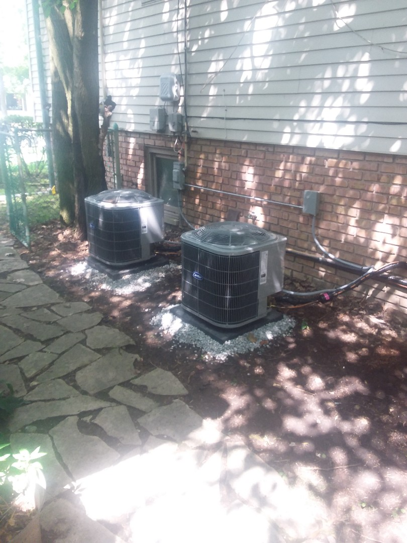 Homewood, IL - Install of 2 ac coil