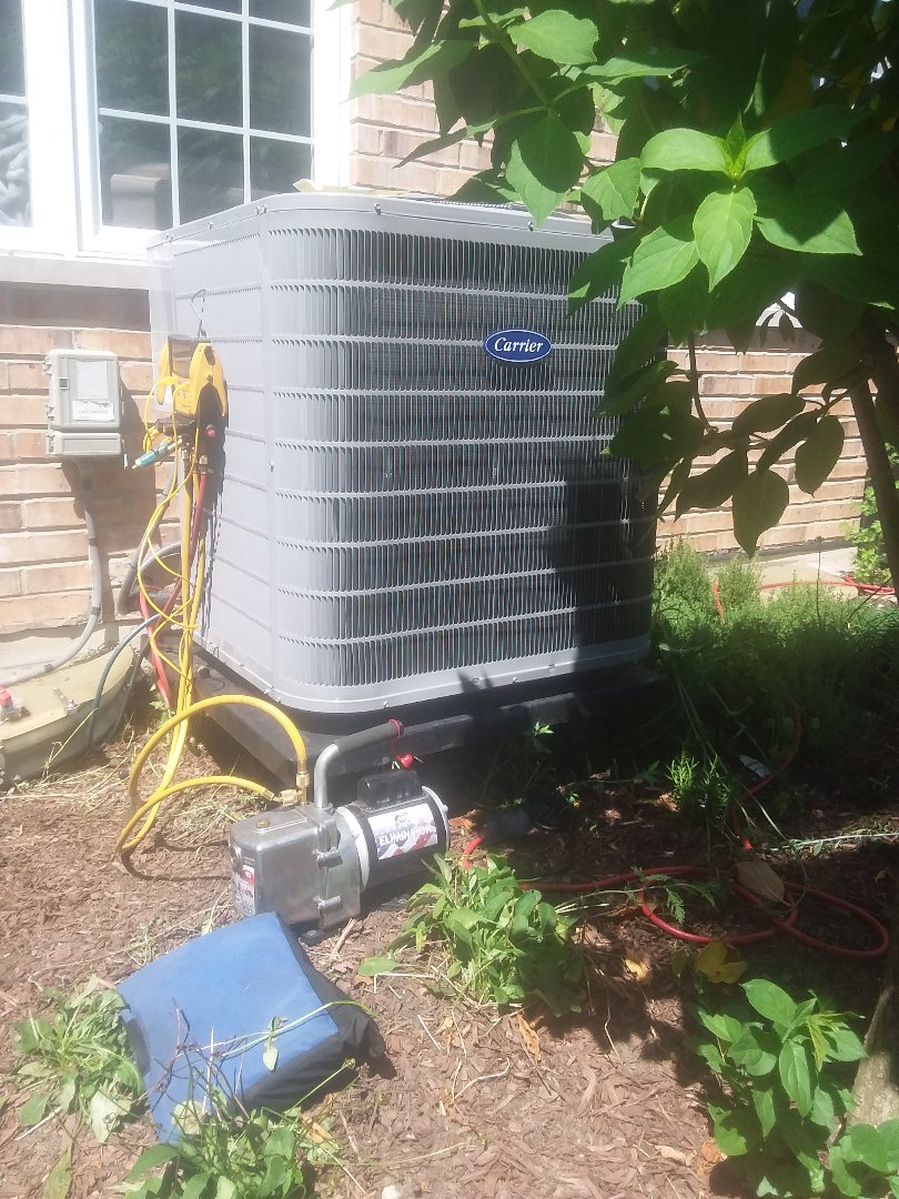 Palos Heights, IL - Install of ac coil