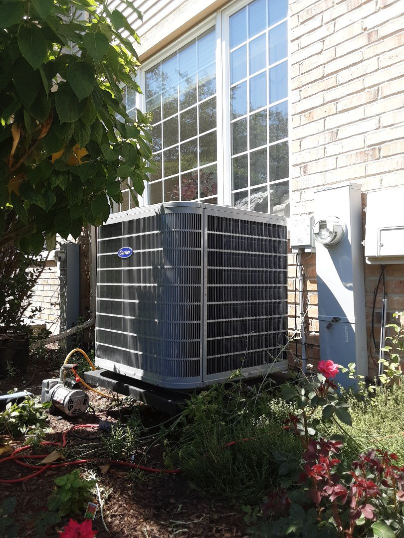 Palos Heights, IL - New Air Conditioner Installation
