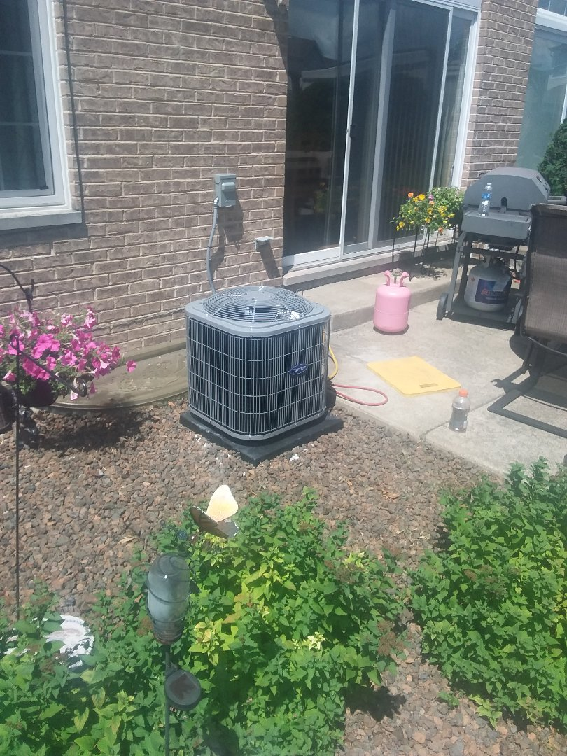 Alsip, IL - Install of ac coil and furnace