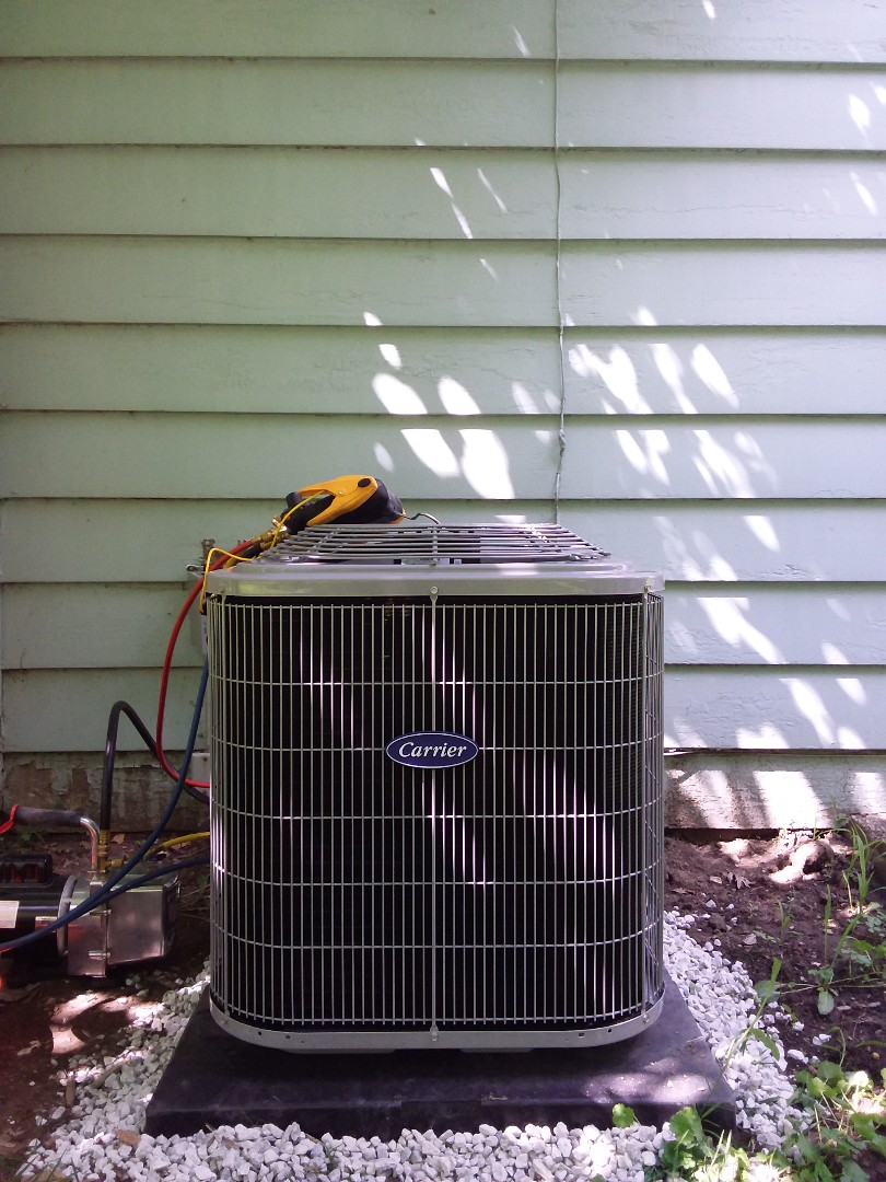 Palos Park, IL - New carrier ac & coil installation