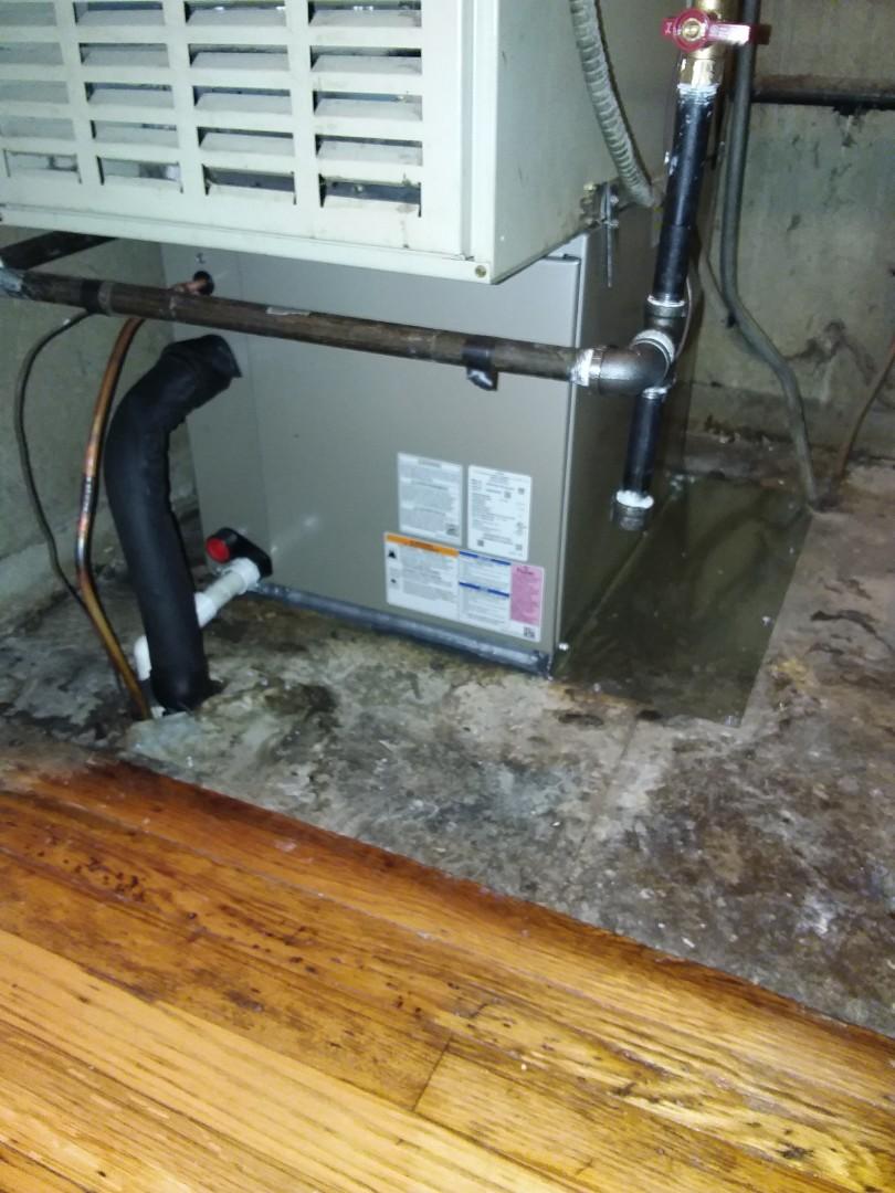 Markham, IL - Condenser/Coil install