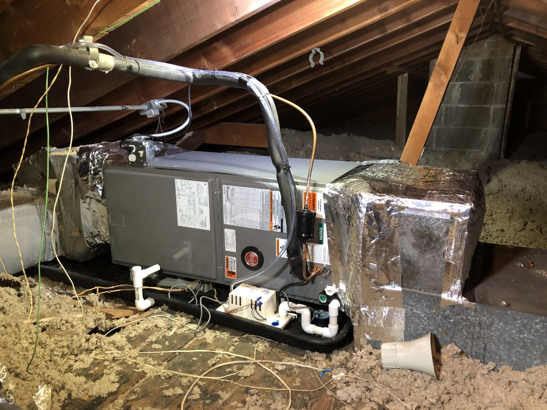Chicago Heights, IL - New Air Handler and Air Conditioner Installation