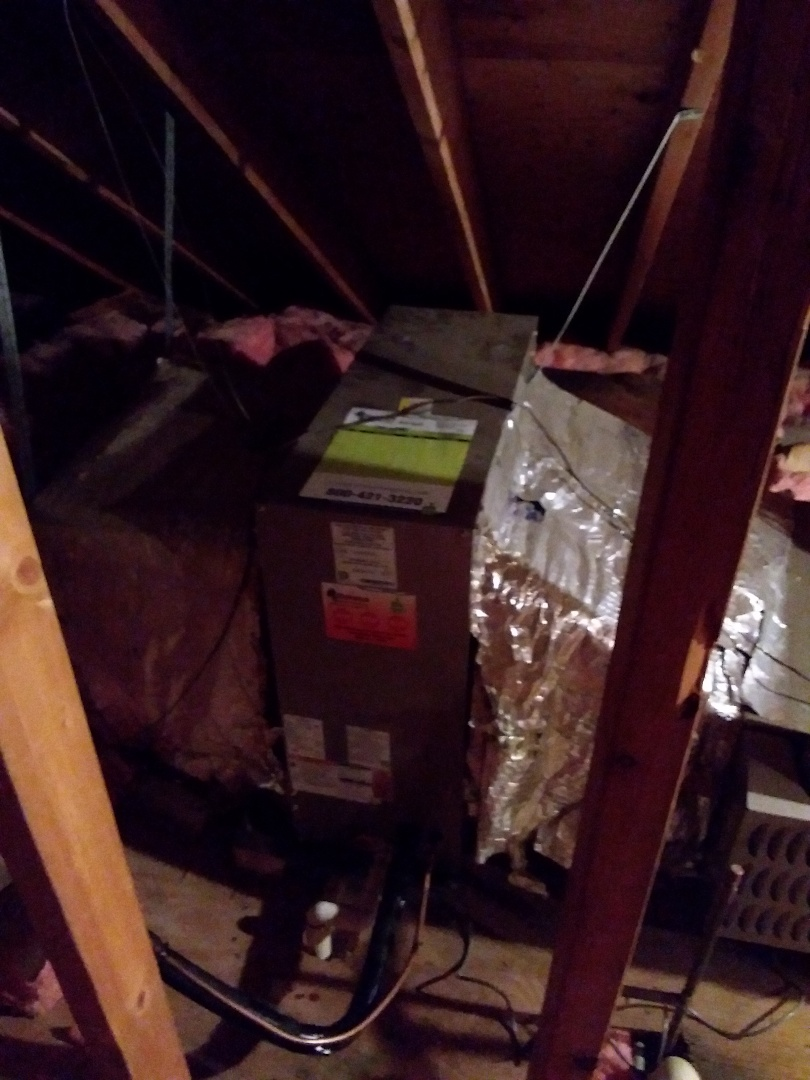 New carrier ac& coil installation