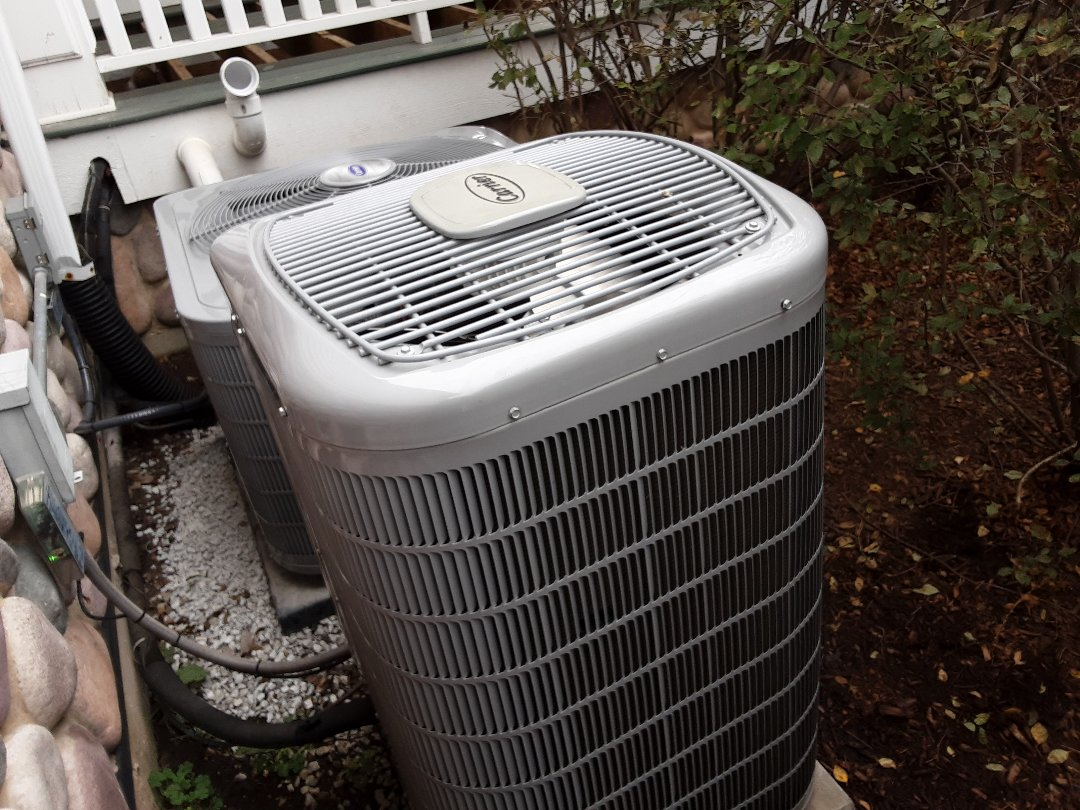 Schaumburg, IL - Cleaned and checked a/c , furnace humidifier