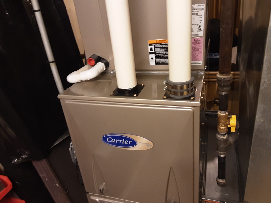 Wheaton, IL - Cleaned and checked 2 furnaces