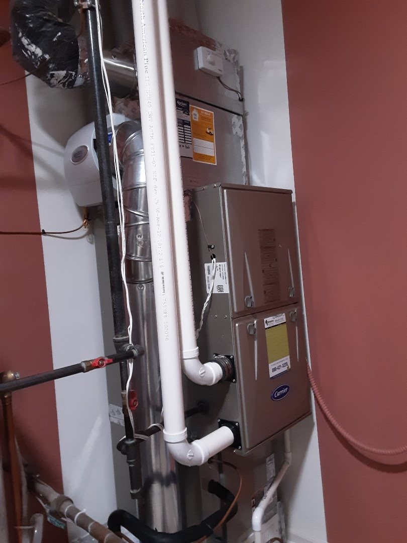 Naperville, IL - Cleaned and checked furnace and humidifier