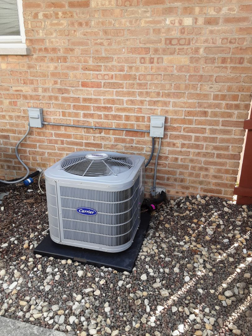 Crestwood, IL - New Furnace and Air Conditioner Installation