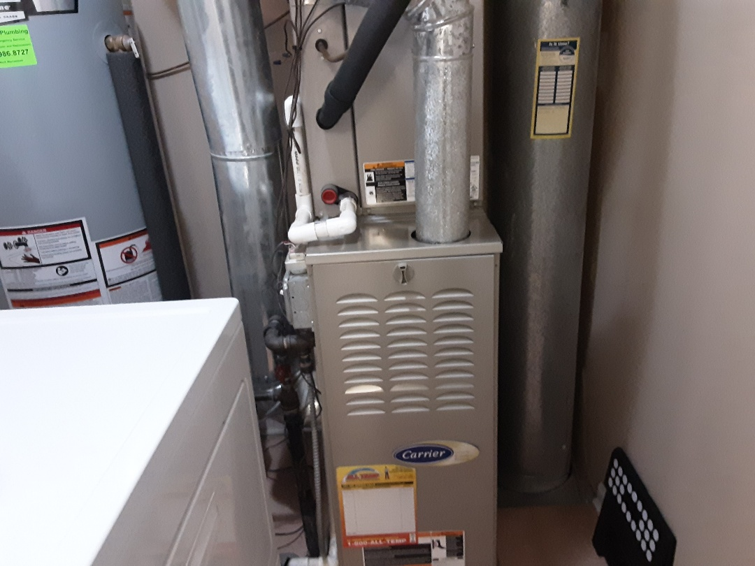 Darien, IL - Cleaned and checked furnace