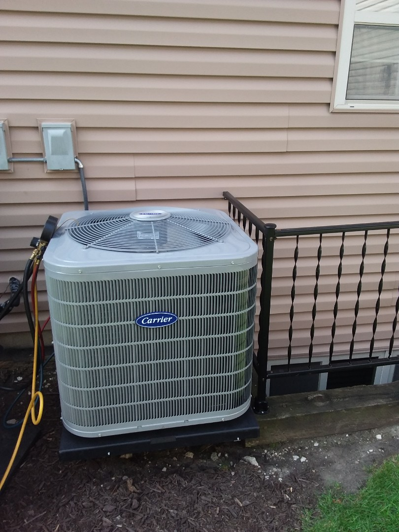 Installation of Carrier Air Conditioner
