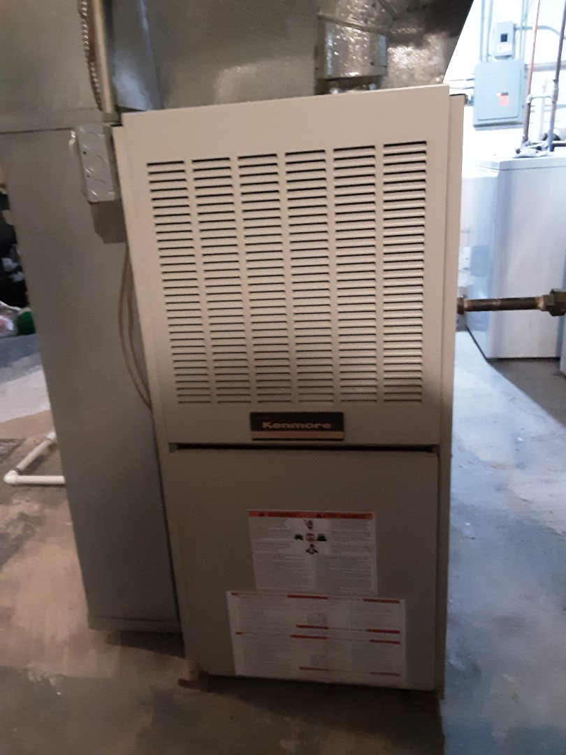 Forest Park, IL - Cleaned and checked furnace