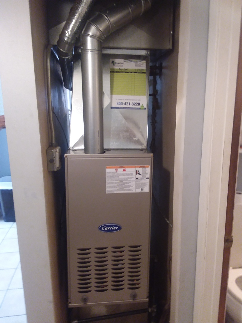 Crestwood, IL - Installation of Carrier Furnace