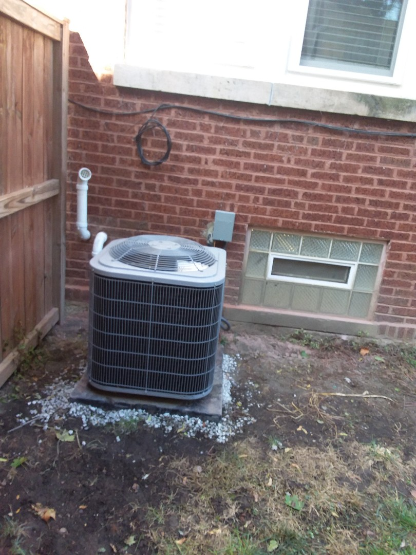 Chicago, IL - Installation of carrier furnace and air conditioner