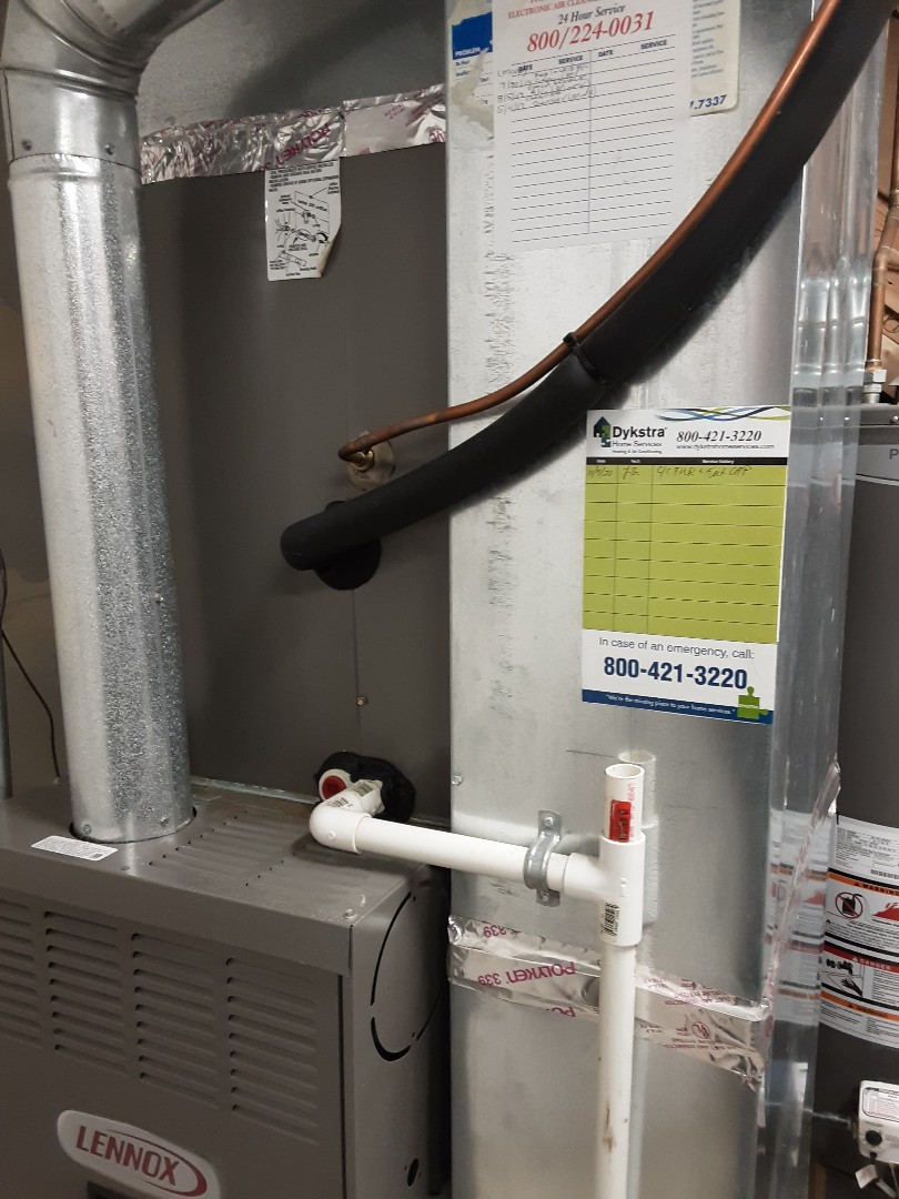 Bolingbrook, IL - Cleaned and checked furnace