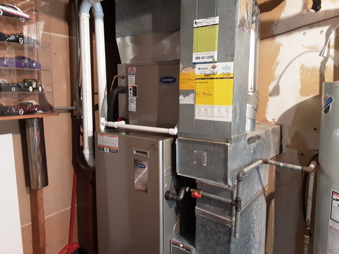 Darien, IL - Cleaned and checked furnace and humidifier