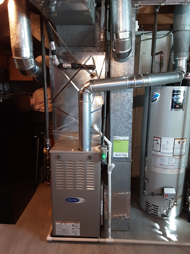 Oak Forest, IL - New Furnace and Humidifier Installation