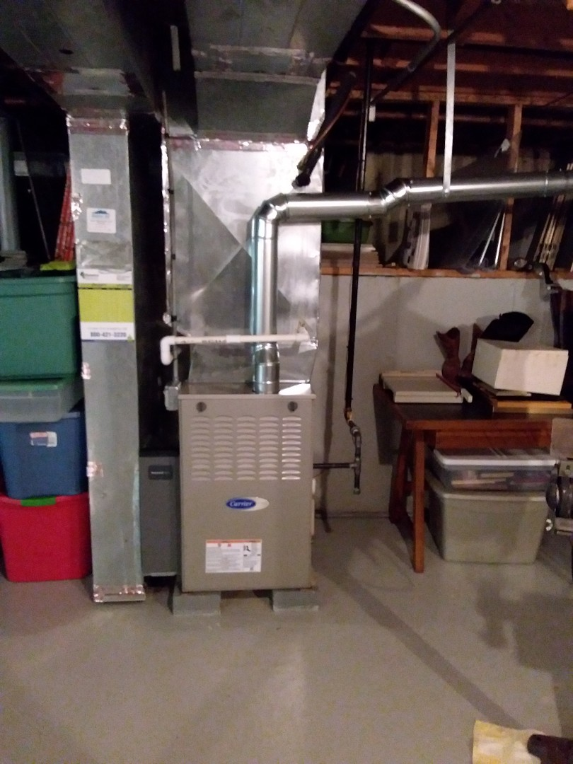Orland Park, IL - Insulation of carrier furnace