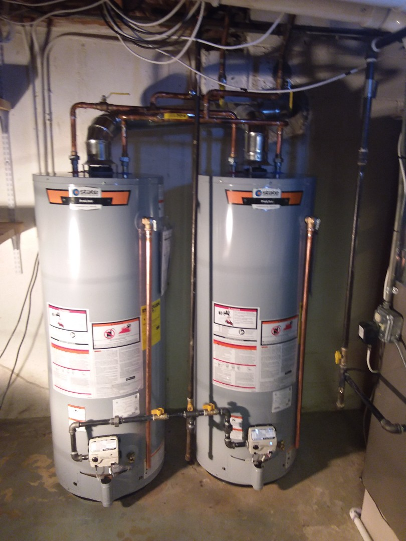 Naperville, IL - Isolation of two state water heater 50 gallon