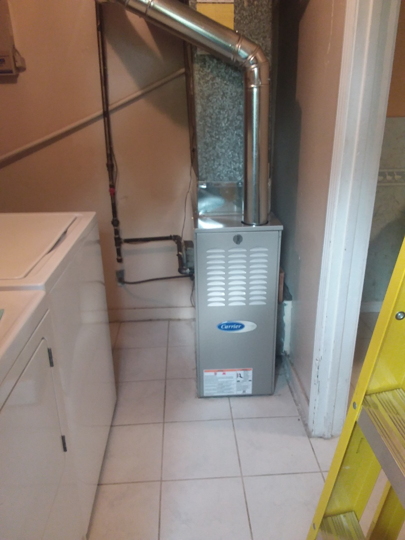 Lockport, IL - Installation of Carrier Furnace