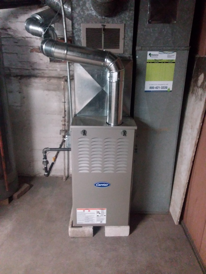 Installation of Carrier Furnace