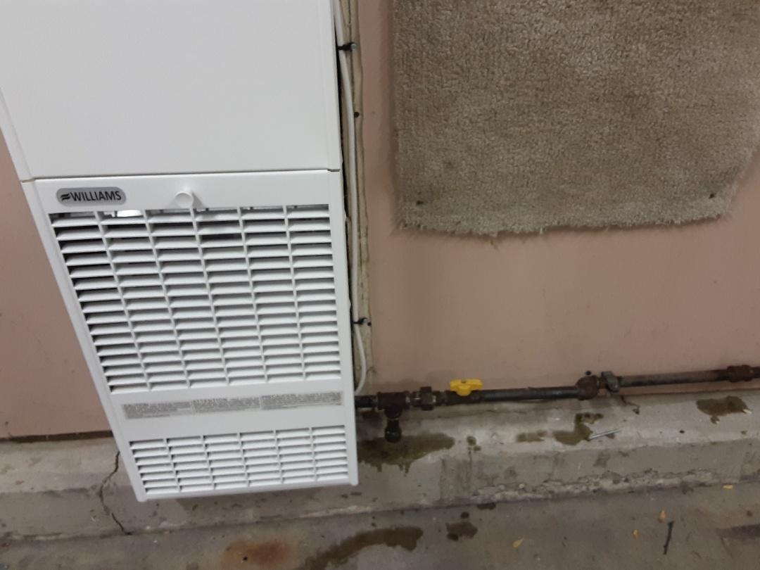 Buffalo Grove, IL - Gas leak repair