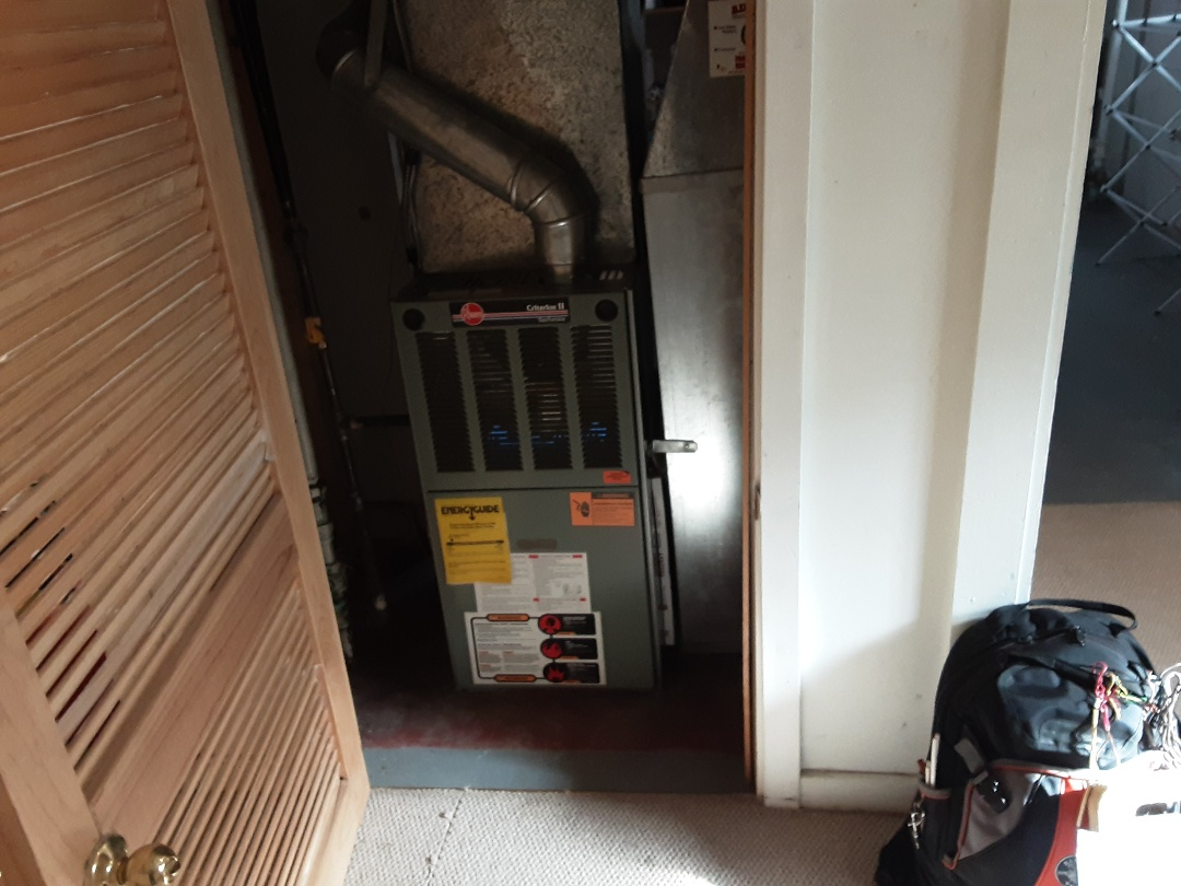 Oak Park, IL - Furnace cleaned and checked