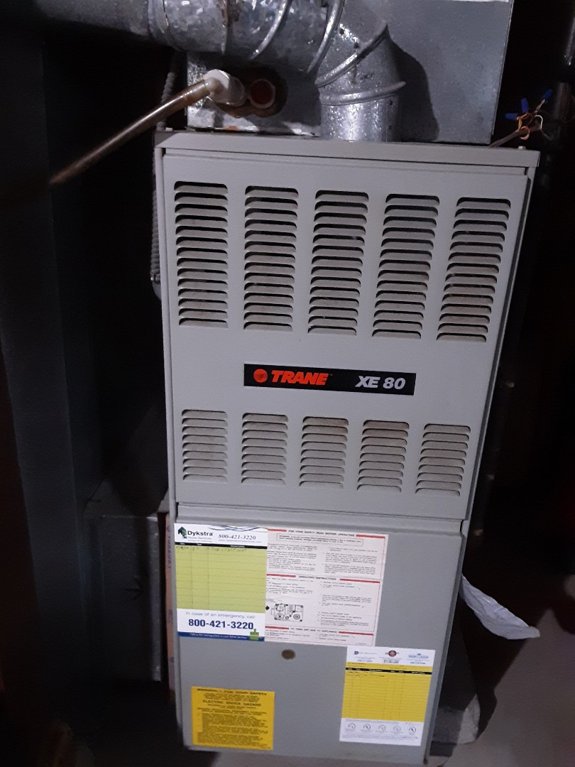 Glendale Heights, IL - I cleaned and checked furnace