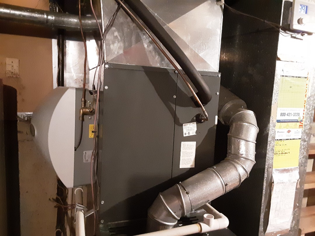 Elk Grove Village, IL - Cleaned and checked furnace and humidifier