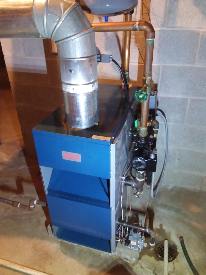 Frankfort, IL - Utica boiler service aquastat replacement