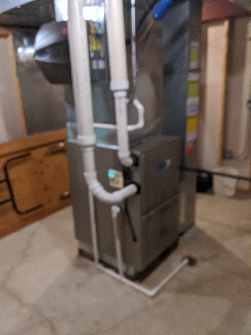 Naperville, IL - Carrier furnace installation