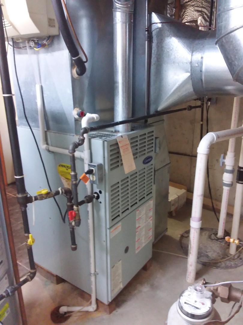 New Lenox, IL - Carrier furnace replacement