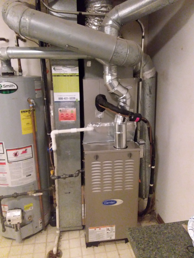 Elk Grove Village, IL - Installation of Carrier Furnace