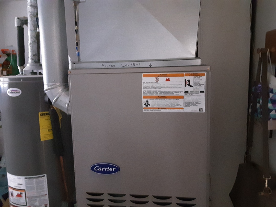 Hoffman Estates, IL - Cleaned and checked furnace