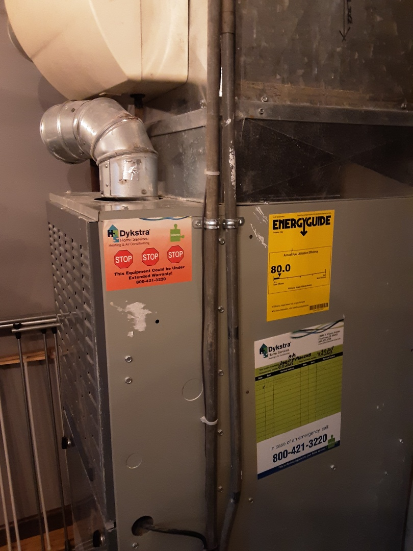 Des Plaines, IL - Cleaned and checked furnace
