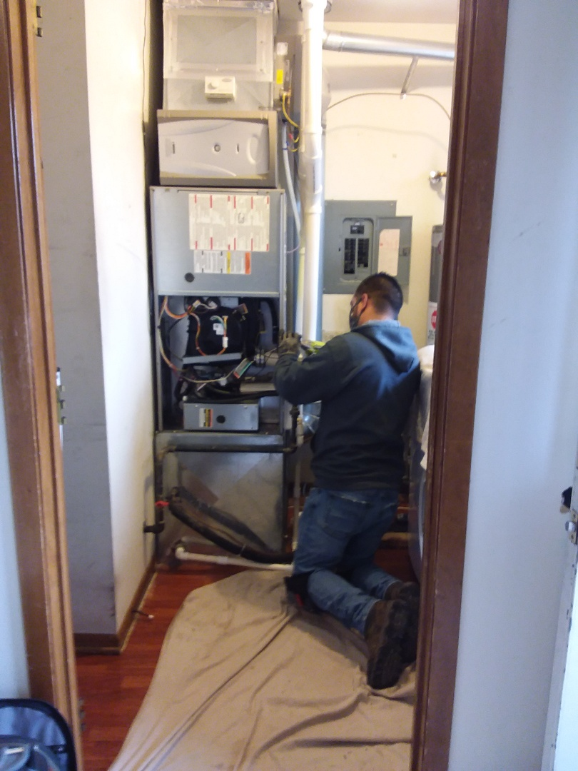 Palos Hills, IL - Carrier furnace replacement