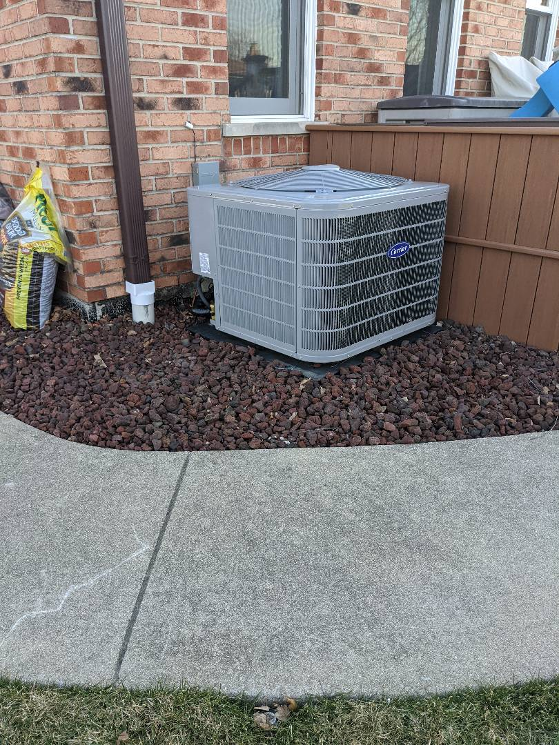 Orland Park, IL - Carrier furnace and AC replacement