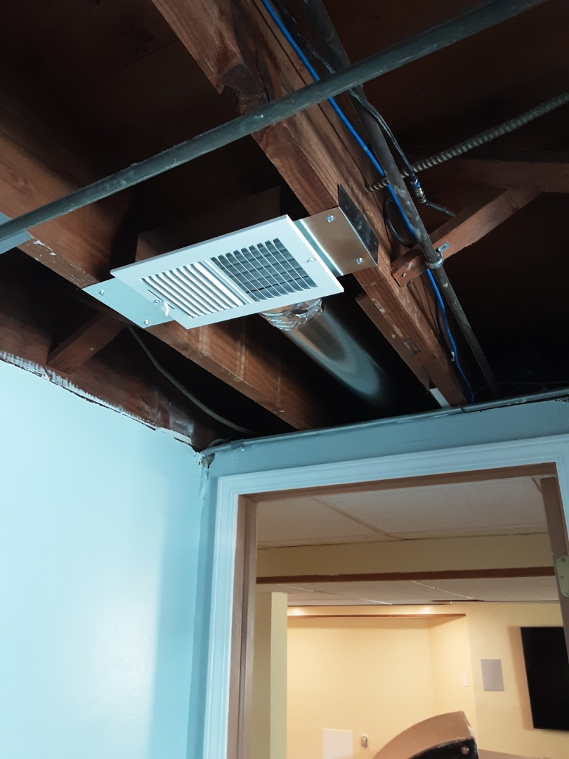 Evergreen Park, IL - New Installation of Supply Duct