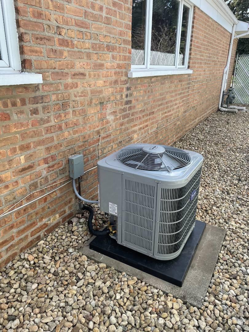 Alsip, IL - New Air Conditioner Installation