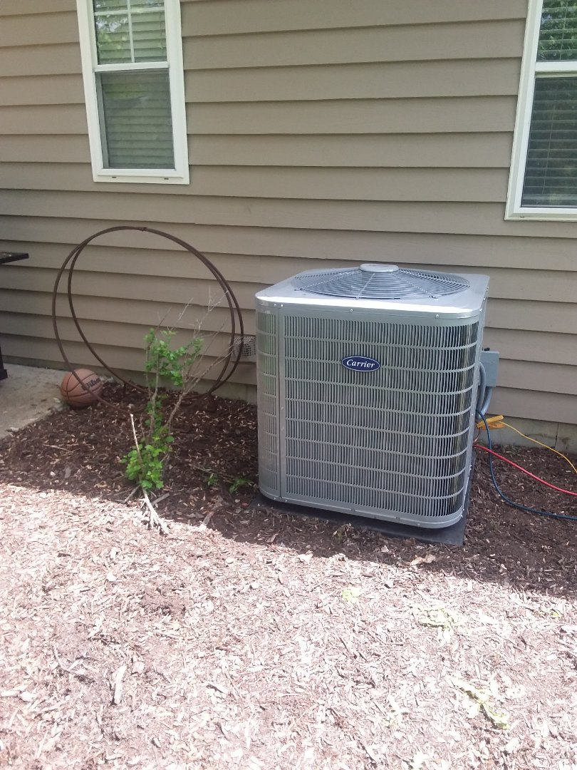 Naperville, IL - Installation of Carrier Air Conditioners