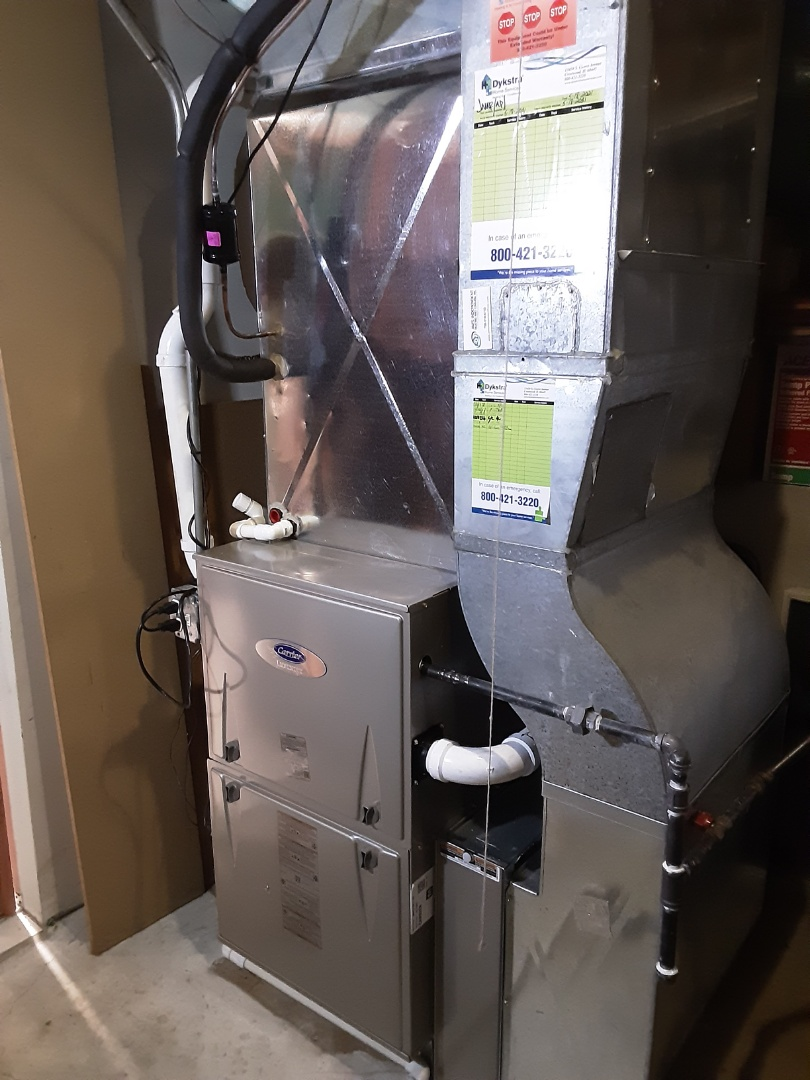 Orland Park, IL - New Installation of Furnace and Air Conditioner