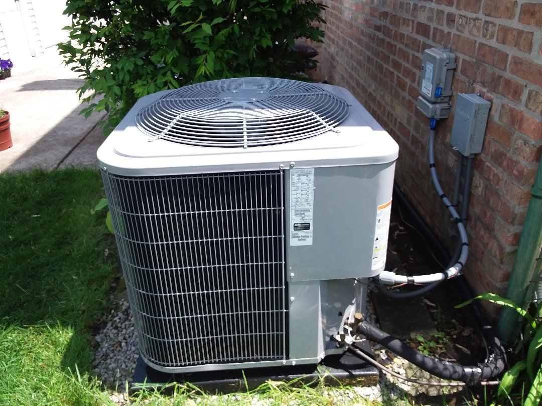 Homewood, IL - Cleaned and checked a/c