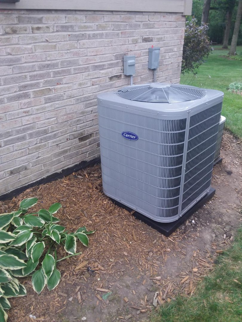 Lockport, IL - Installation of New Air Conditioner System